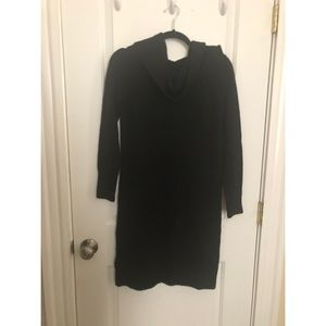 NWT LOFT Super Soft Black Sweater Dress
